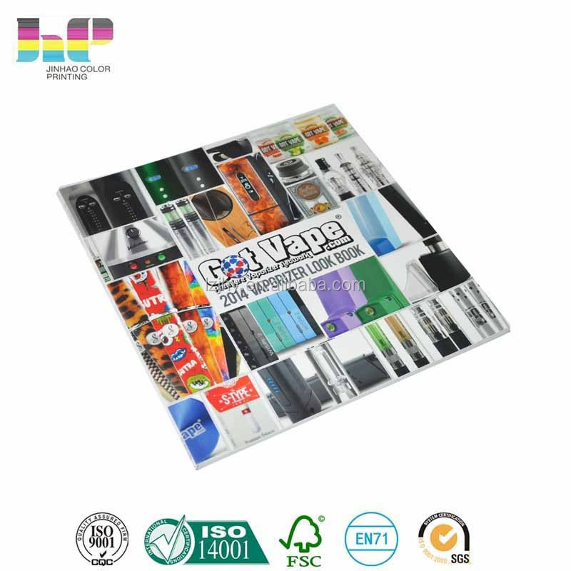 multi colourful printing laminated reference book printing