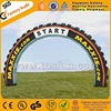 7m long large tire inflatable arch for sale inflatable archway F5023