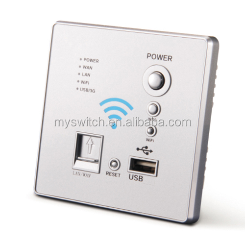 Multi 3g wireless smart router wireless AP WIFI USB smart wall switch socket outlet