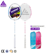 Lenwave brand name outdoor amuse badminton racket