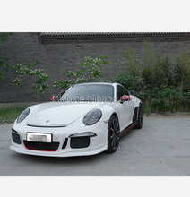 High quality 2012-2016 years pors che 911 991 FRP carbon fiber material GT3 style body kit car bumper