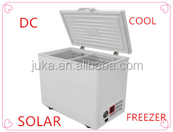108L 158L 208L 268L 358L 408L AC/DC solar chest freezer