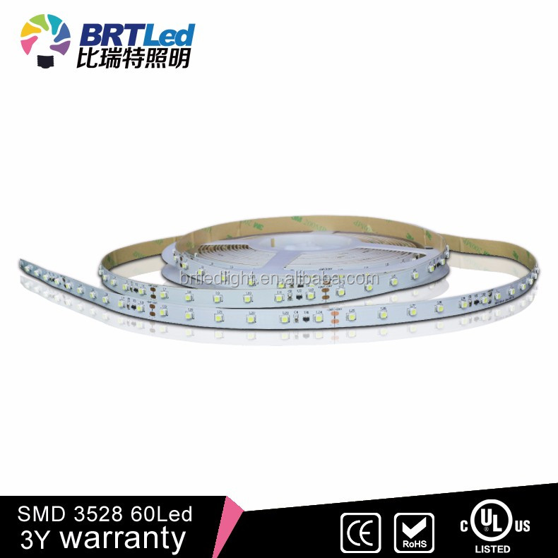 Colorful Light 3-4LM SMD 3528 RGB LED Strip/Bar Light 4.8W 12V 5m RGB Color IP44 Ideal For Gardens, Homes