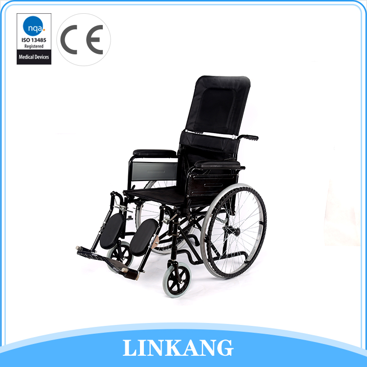 Manufactory wholesale high back wheelchair manual