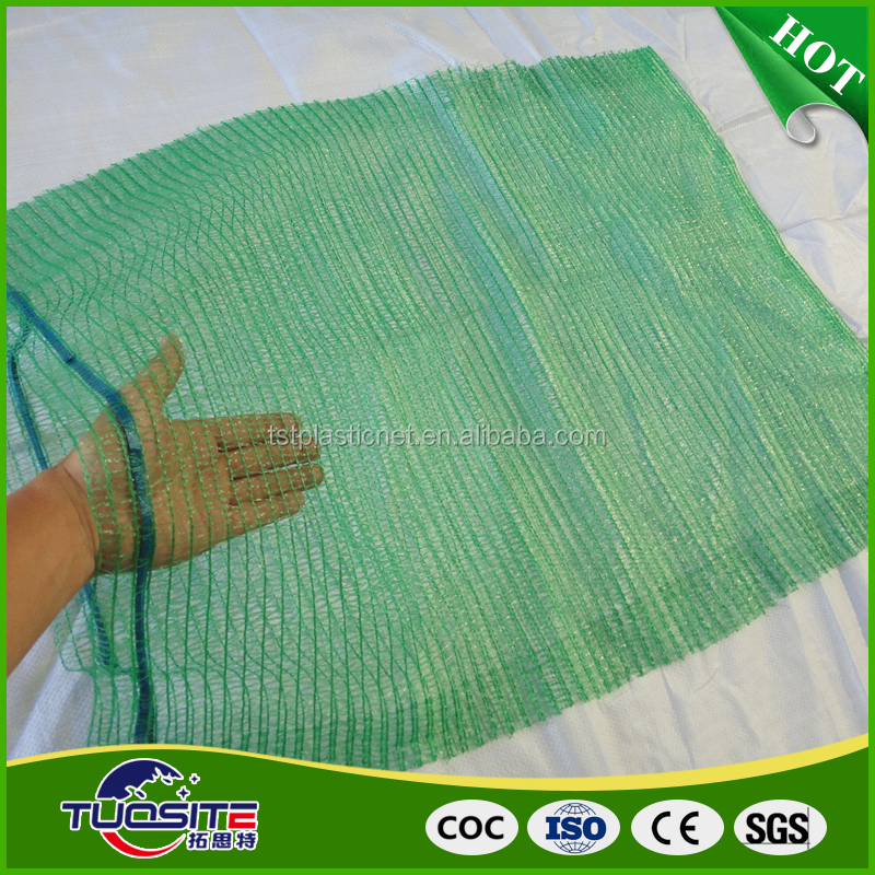 100% PE raschel mesh bag for onions ,potatos , other vegetables
