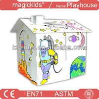 Corrugated Playhouse educatonal toys