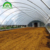 low cost plastic film green house steel structures hoop house for sale