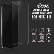 Promotion ! OEM/ODM 2.5d 9H anti-fingerprint cell phone tempered glass screen protector for HTC 10
