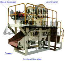 Mobile Jaw Crusher Machinery/Mine Quarry Crusher/Jaw Crusher Plant for sale