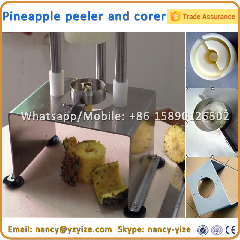 Hot Sale Manual small size model pineapple peeler and corer pineapple peeling machine