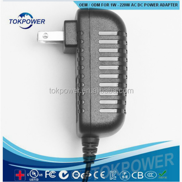 IEC 61347 ce ul IEC 61558 12v dc power supply 2A AC/DC Charger Transformer Power Adapter for 3528 5050 LED RGB