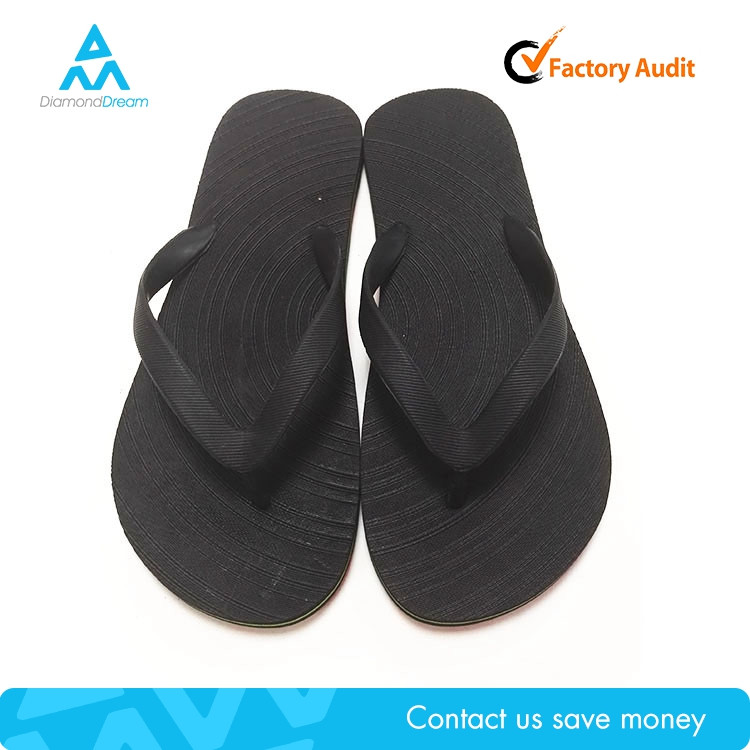 Cheap factory manufacture summer black flip flop blank