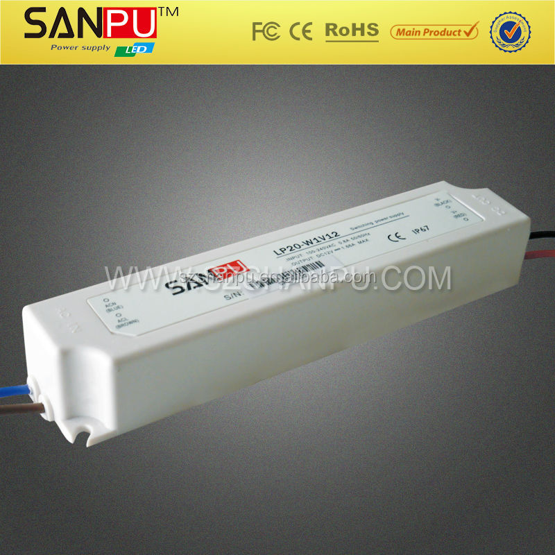 SANPU hot selling waterproof 12v switch mode power supply 60w ,high quality ,power supply manufacturer