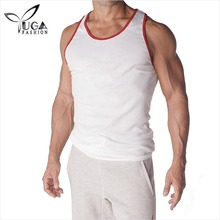 Mens Ribbed Workout Tank Tops for Fitness Bodybuilder Weightlifter