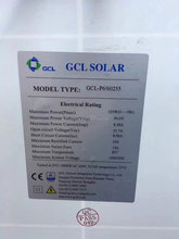 Big promotion GCL 255 watt 60-cell Best price multicrystalline solar pv modules