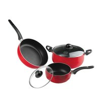 Non stick 5 Pc Cookware Set Convex