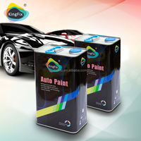 KINGFIX Brand Excellent coverage performance car repair paint for special effect colors