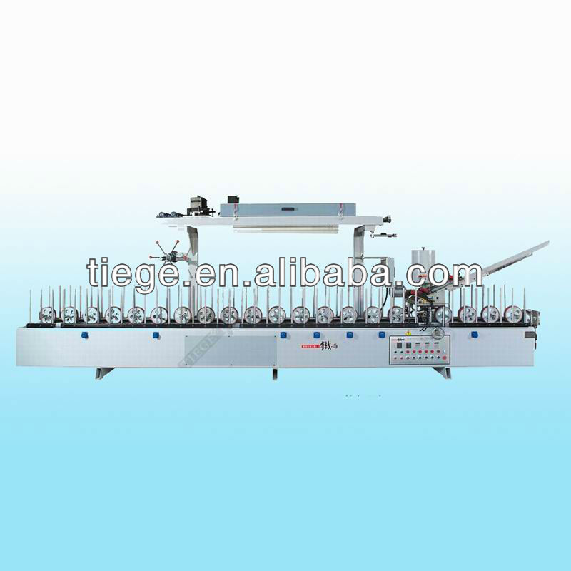 high efficiency cold and hot glue laminating machine