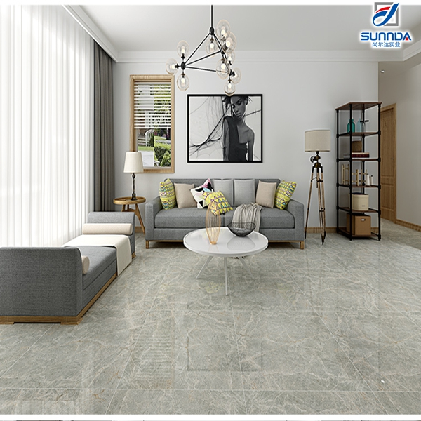 hot sell premium discontinued wooden look hotel lobby 600x600 black grey marble glazed polished porcelain floor tiles