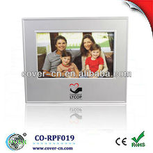 bela voz recordable photo frame plástico para o presente