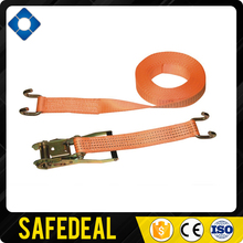 "standard ratchet straps 2"" 5T orange webbing claw hook ratchet tie down"