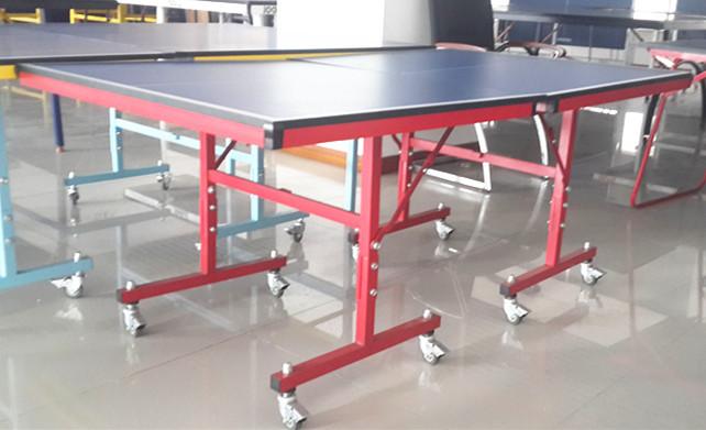 Single folding mini table tennis table movable beer pong - Folding table tennis tables for sale ...