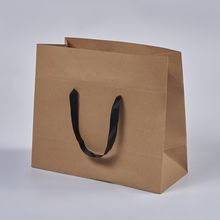 Customized brown kraft paper bags with your own logo