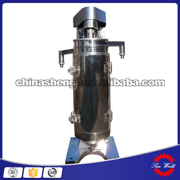 Coconut oil processing machine tubular centrifuge used for virgin coconut oil in sollid liquid separation process