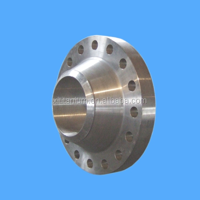 slip-on welding anchor flange gr3 titanium Raised face flange