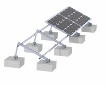Exclusive AL 6005-T5 Solar Panel Support Structures Solar Bracket