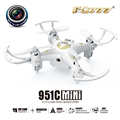 shatter resistant 951C 2.4G 4CH rubber paint cover mini quadcopter with camera 0.3MP