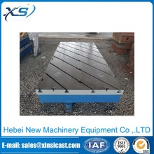 Measuring tools cast iron t-slot bed plate
