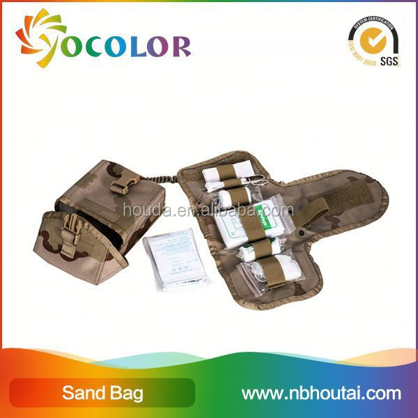 High Quality 1000D nylon cordura f Ifak Bag with camouflage fabric