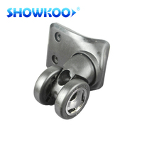 2016 Fashion pattern suitable abs+pvc plastic luggage caster wheels