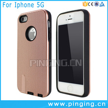 High quality TPU+PC material latest 5g mobile phone for iphone 5 case