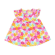 bulk wholesale fancy kids dresses for baby girl baby cotton frock design new fashion kids party wear dresses