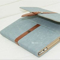 Fashion leather case for ipad air leather stand new laptop case for ipad air accessories alibaba china tablet case