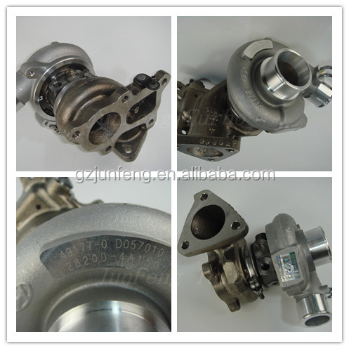 GT1749 Turbo 49135-04000 28200-4A150 turbocharger for Hyundai Commercial Starex H1 2.5L D4BF Euro-2 Engine parts