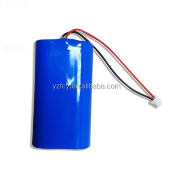 lithium battery pack 7.4v 2000mah rechargeable battery