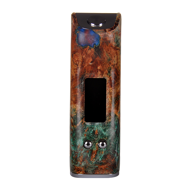 Gabriel 80W Stab Wood Mod Vaping With Date Memory Function Produced By Asvape