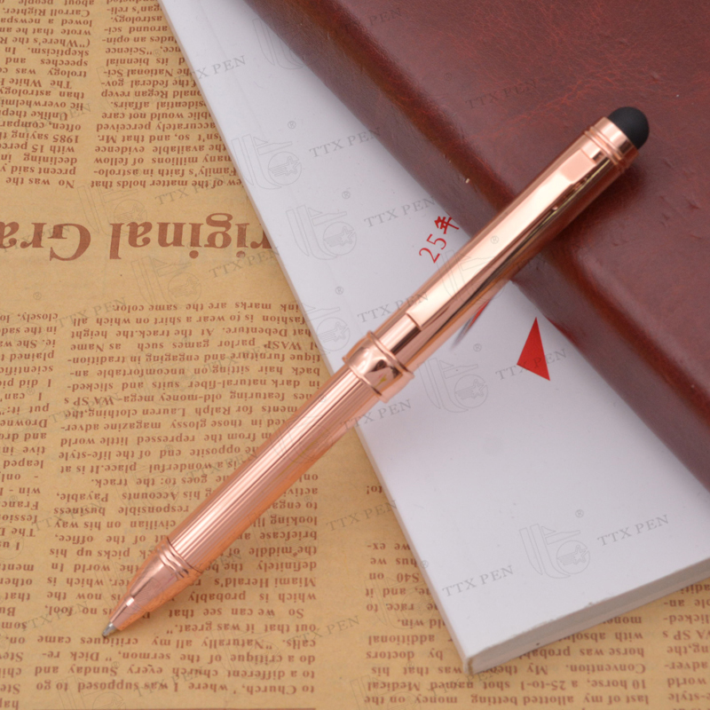 Popular fedex retractable stylus pens for touch screens,retractable metal pen with clip