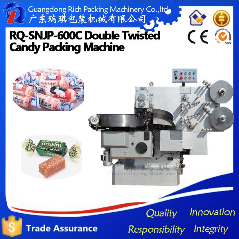 automatic double twist hard candy packaging machine