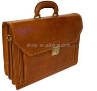 2016 Hot selling leather briefcases for business men