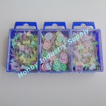 40mm Colorful Bowknot Head Sewing Pin