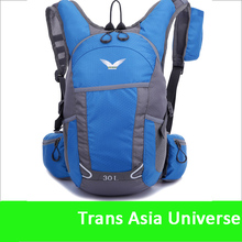 Hot Sale custom cheap custom bicycle backpack with water bag