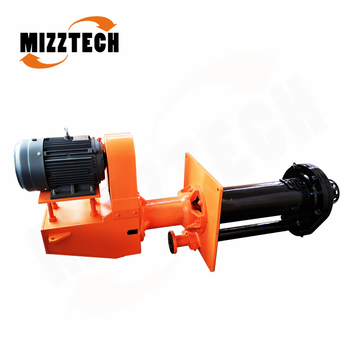 MIZZTECH Vertical Piston Pump Unit Submersible Slurry Pump