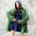 CX-G-A-91A 2017 Hot Sale Fashion Women Winter Jacket, Women Fur Knitted Coat For Wholesale