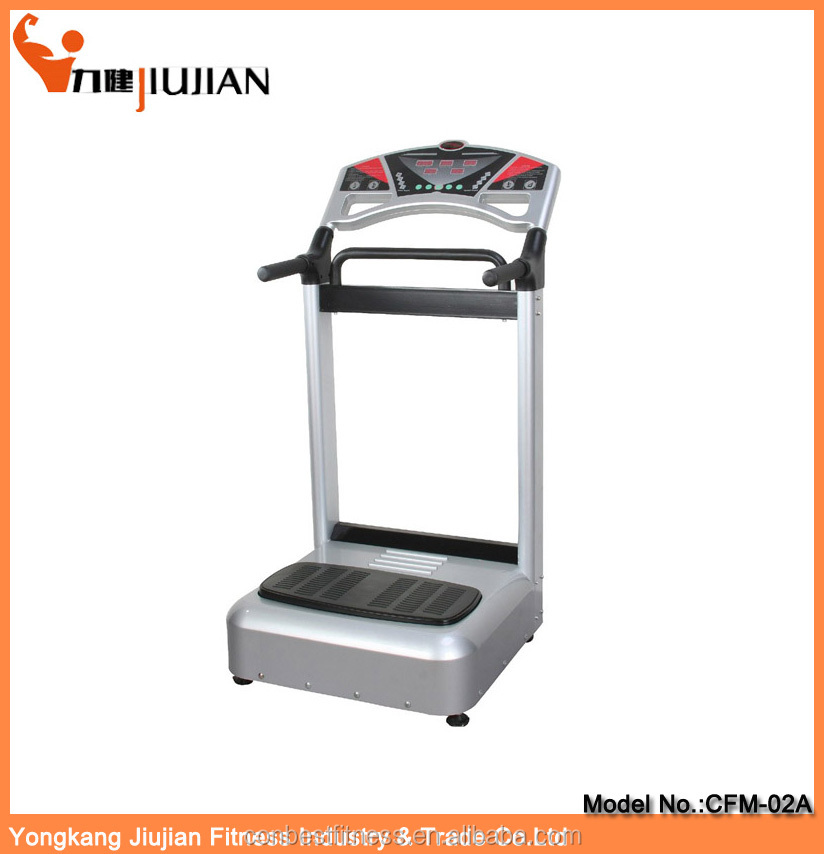 New Fashionable abdominal exercise machine/ sports machine/crazy fit vibration plate fitness machine