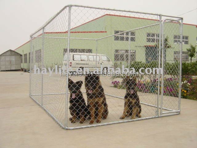 weld mesh or chain link dog kennels