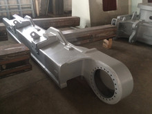 Custom Excavator Track Frame Fabrication For Heavy Machinery Parts